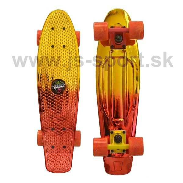 Skateboard BUFFY STAR - gold