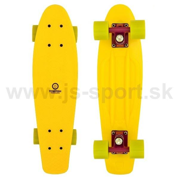 Skateboard BUFFY yellow Tempish