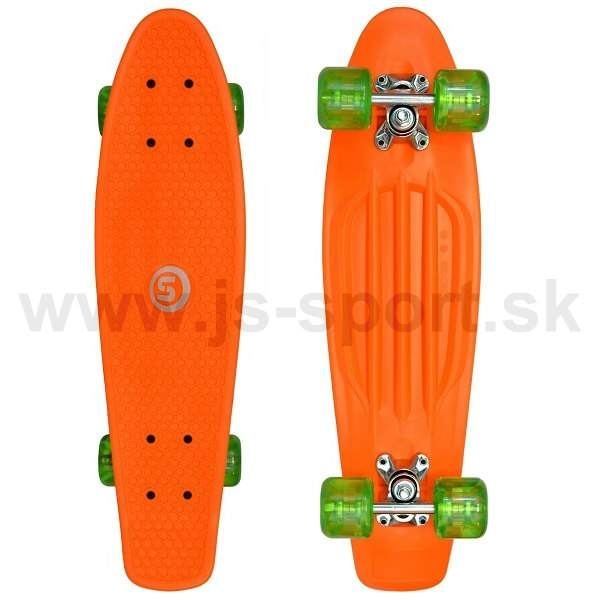 Pennyboard Spartan Orange 24,5""