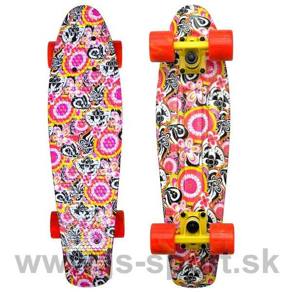 Skateboard Flower - Spartan