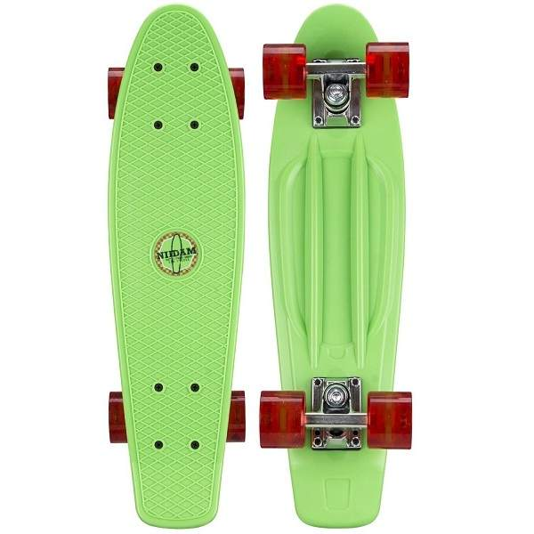 Pennyboard Nijdam Green - Led