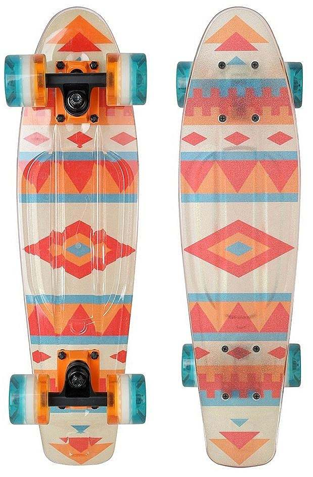 Skateboard BUFFY 3 x FLASH